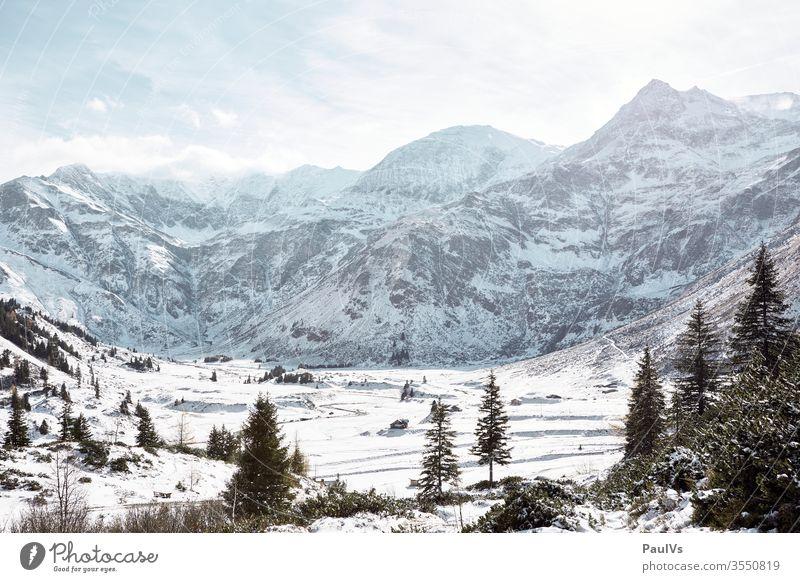 Sport Gastein Sportgastein Herbst Alpen verschneit hohe Tauern Nationalpark Hohe Tauern Berg Alpin Ostalpen Gebirge Skigebiet Skifahren Winterurlaub Österreich
