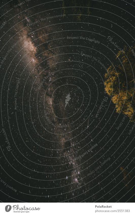 #As# Blick Nach Oben Stern Sternenhimmel Sternbild sternenklar Sternenhaufen Sternenzelt Milchstrasse Neuseeland Neuseeland Landschaft Nacht Langzeitbelichtung