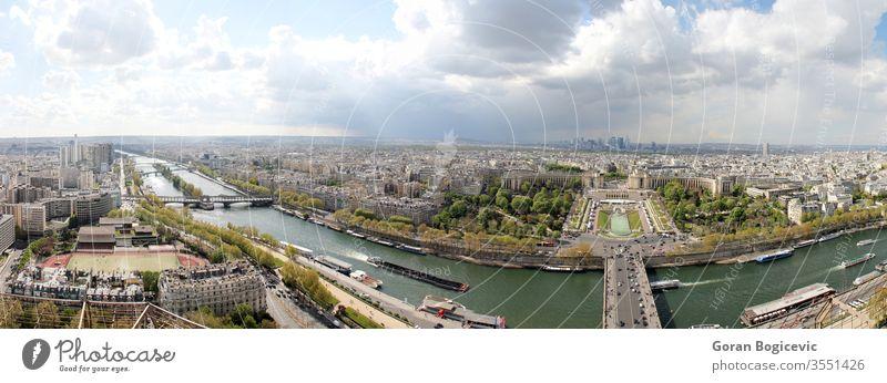 Paris, Frankreich Architektur Gebäude Kapital Großstadt Stadtbild Revier Europa Außenseite Wahrzeichen Landschaft im Freien vorbei bedeckt Panorama panoramisch