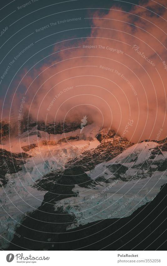 #As# the sound of cracking ice Neuseeland Neuseeland Landschaft Natur Außenaufnahme Farbfoto Menschenleer Gletscher Eis Kälte Winter Gebirge Berge u. Gebirge