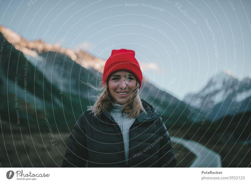 #As# Mützenmädchen Ausflug Bergkette Abenteuer Umwelt mützenmädchen Farbfoto roadtrip Reisefotografie reisen Reisender Reiseroute reiseziel reisend reiseziele