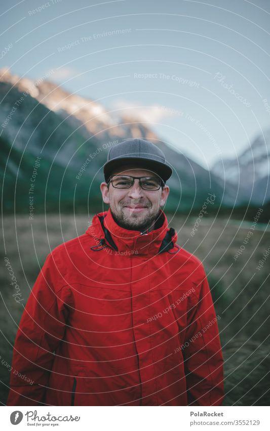 #As# Gebirgsgrinsen wanderweg Gipfel Fernweh Outdoor Kraft Tourismus Neuseeland Landschaft Berge u. Gebirge Ferien & Urlaub & Reisen wanderlust Außenaufnahme