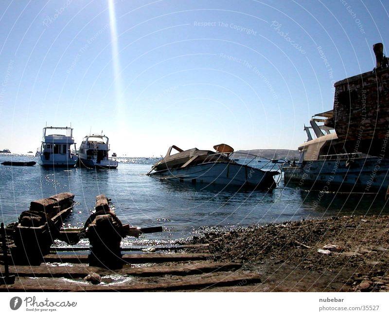 Ägypten - Rotes Meer Wasserfahrzeug Zufriedenheit sea boats Egypt