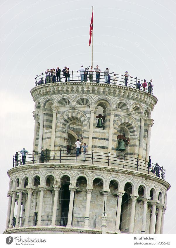 Der schiefe Turm von Pisa Toskana Ferien & Urlaub & Reisen Europa PISA-Studie Mensch Neigung