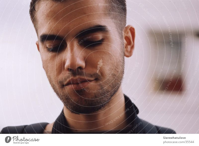 Time2remember Mensch Mann Gesicht Gefühle Denken Trauer