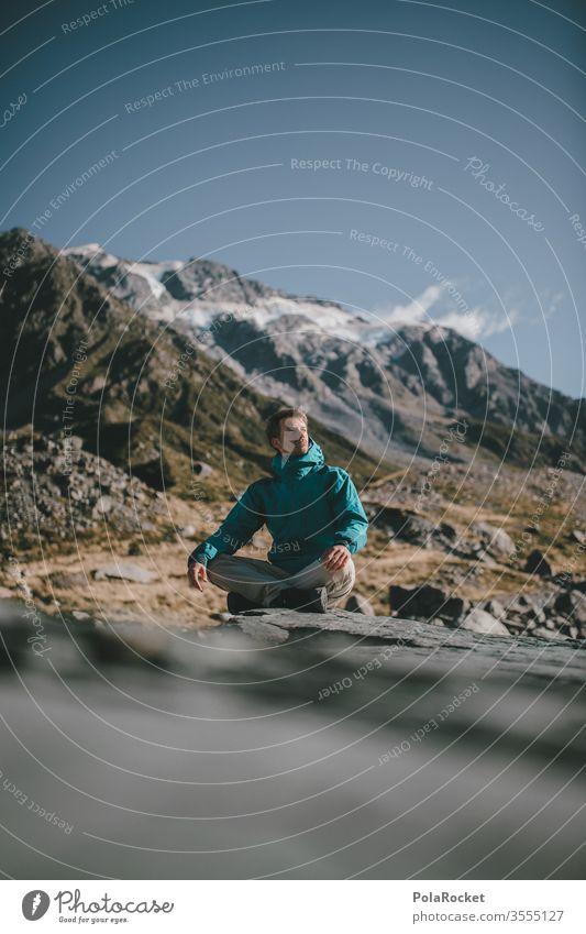 #aS# Am Sitten Tourismus Neuseeland Landschaft Berge u. Gebirge Außenaufnahme Ferien & Urlaub & Reisen Natur wanderlust Wanderung Wanderausflug Wandertag