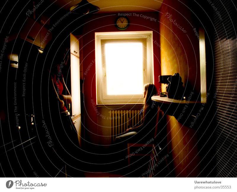 Kitchen thinking Fenster Küche Sehnsucht Gedanke