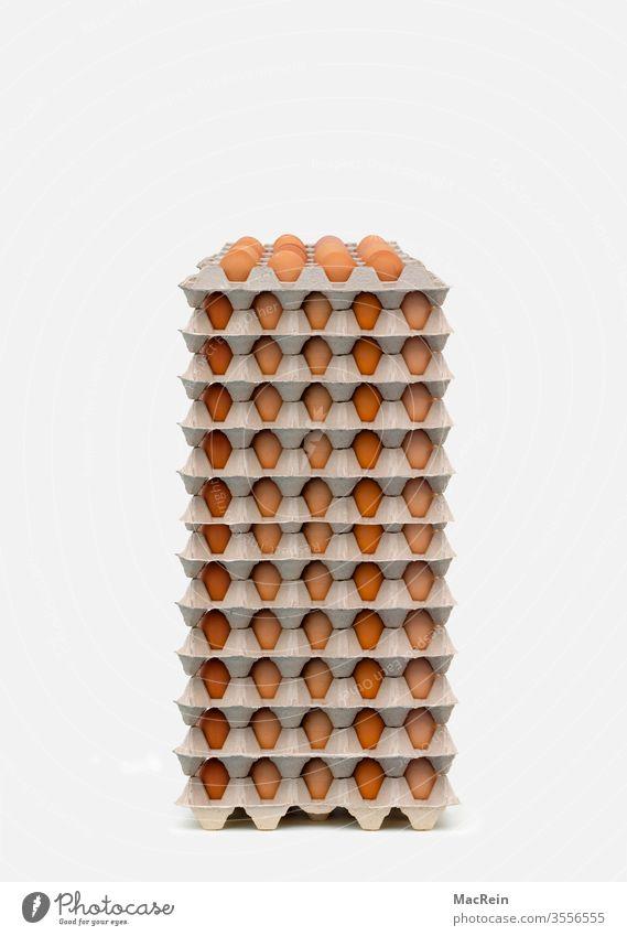 Eierpaletten ei eier eierpalette eierpaletten gelege huhn hühner hühnerei hühnereier frühstücksei frühstückseier eierkarton eierkartons niemand textfreiraum