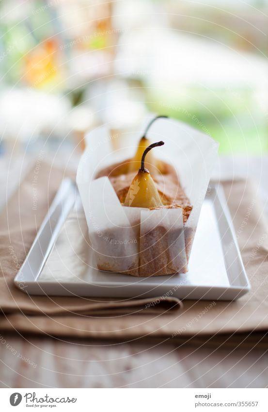 pear cake Frucht Ernährung süß Süßwaren lecker Kuchen Dessert Birne Slowfood