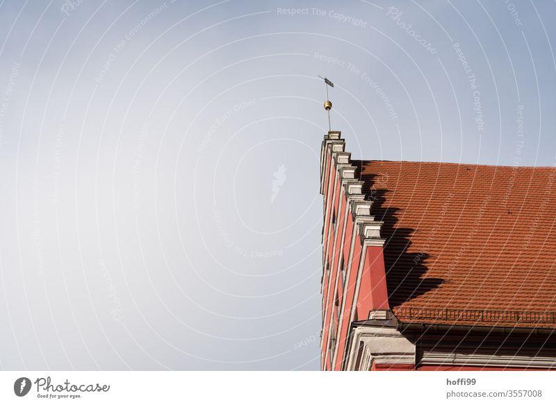 Ansicht eine hanseatischen Fassadenerweiterung Fassadenverkleidung Architeur Architektur Hansestadt historisch Historische Bauten historische Altstadt Bauwerk