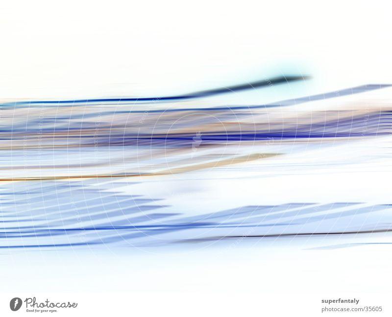 abstract 002 weiß blau Bewegung Linie Hintergrundbild zyan Fototechnik