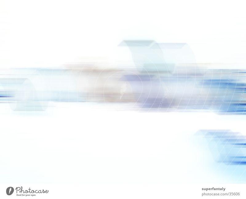 abstract 001 zyan weiß Hintergrundbild Fototechnik blau schlierren Bewegung