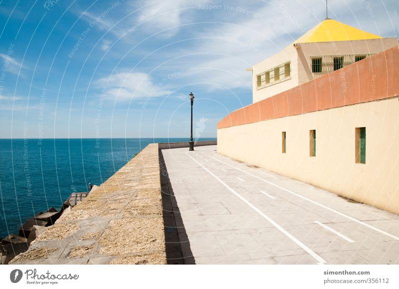 Küste Ferien & Urlaub & Reisen Tourismus Ausflug Ferne Sightseeing Städtereise Sommer Sommerurlaub Sonne Meer Insel Schönes Wetter Cadiz Spanien Europa Dorf