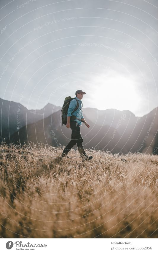 #AS# A long journey II Ausflug Abenteuer Umwelt Farbfoto Reisender reisen Reisefotografie Wanderer Wanderausflug reisend Ferien & Urlaub & Reisen Natur