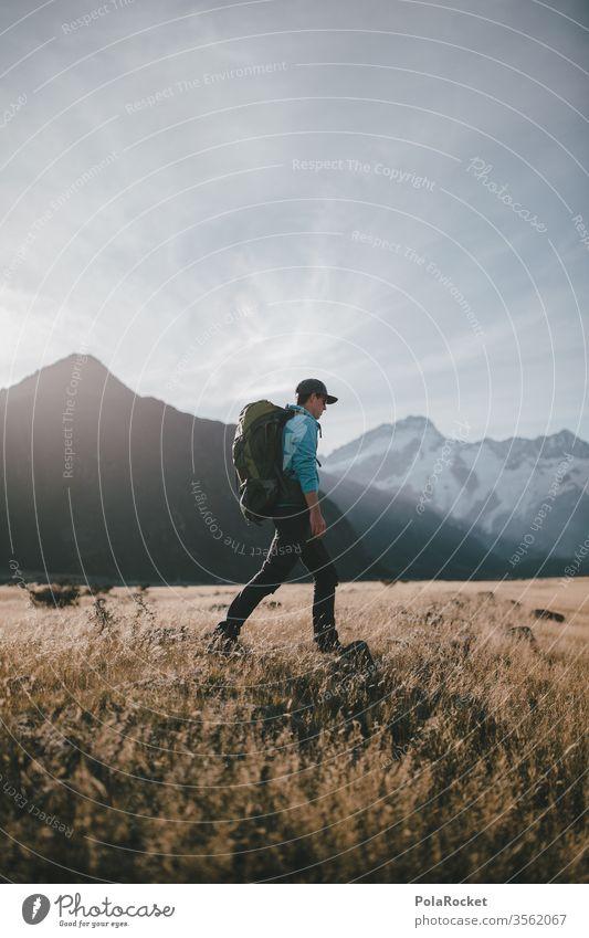 #AS# A long journey Ausflug Abenteuer Umwelt Farbfoto Reisender reisen Reisefotografie Wanderer Wanderausflug reisend Ferien & Urlaub & Reisen Natur Landschaft