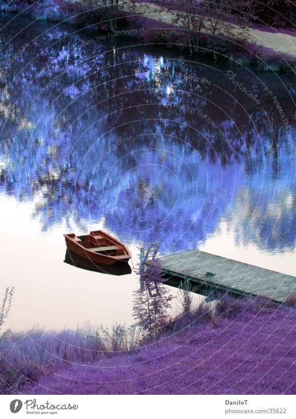 Colorplay Wasser Wasserfahrzeug Steg Fototechnik Farbton