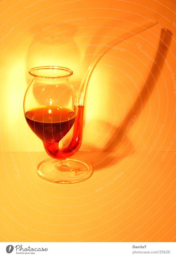 Light my Fire gelb Kunst Glas Verlauf Überbelichtung Spirituosen