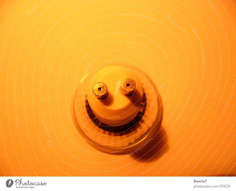 Smilie Lampe Licht grinsen Langzeitbelichtung Elektrisches Gerät Technik & Technologie Halogen Fun