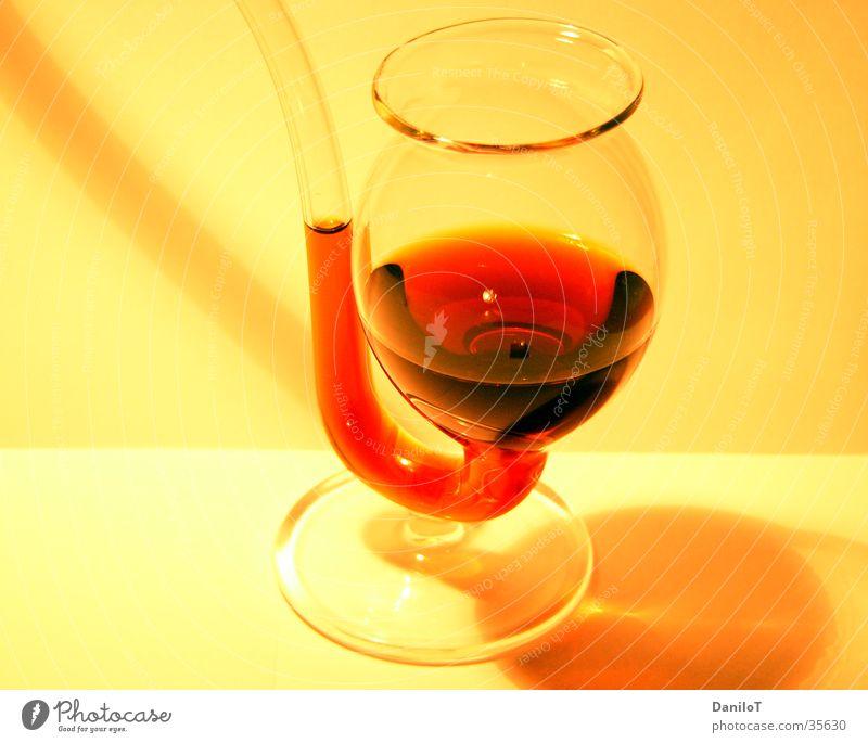 Prost Spirituosen Licht Alkohol Drinken Durst Glas Gelbverlauf