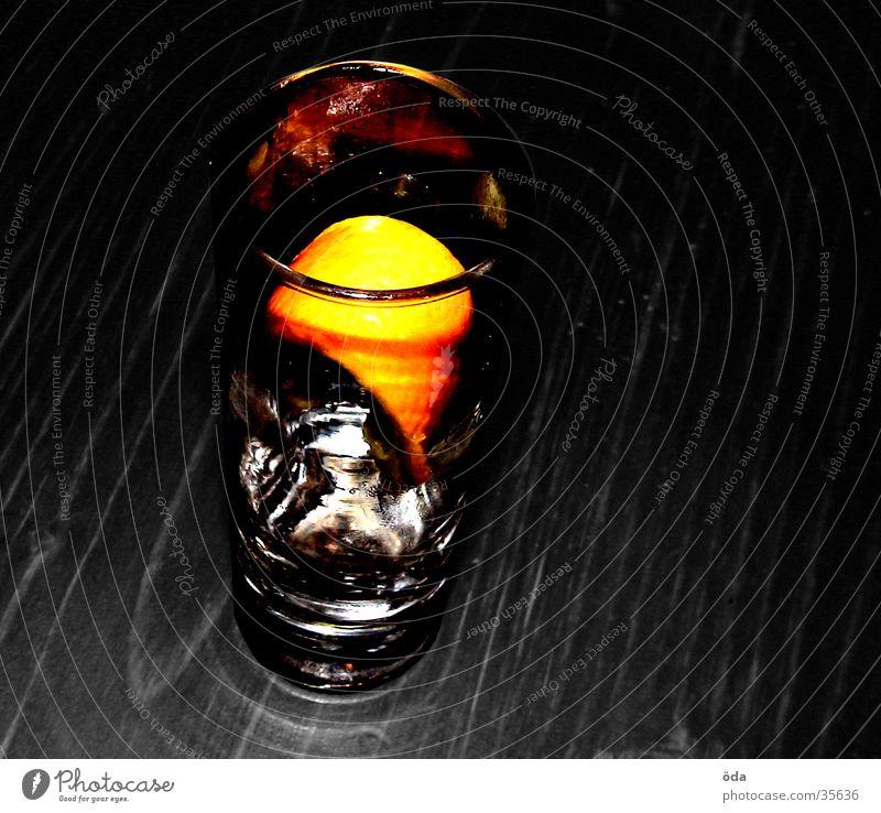 tequilla killer Eis orange Glas trinken Alkohol Eiswürfel