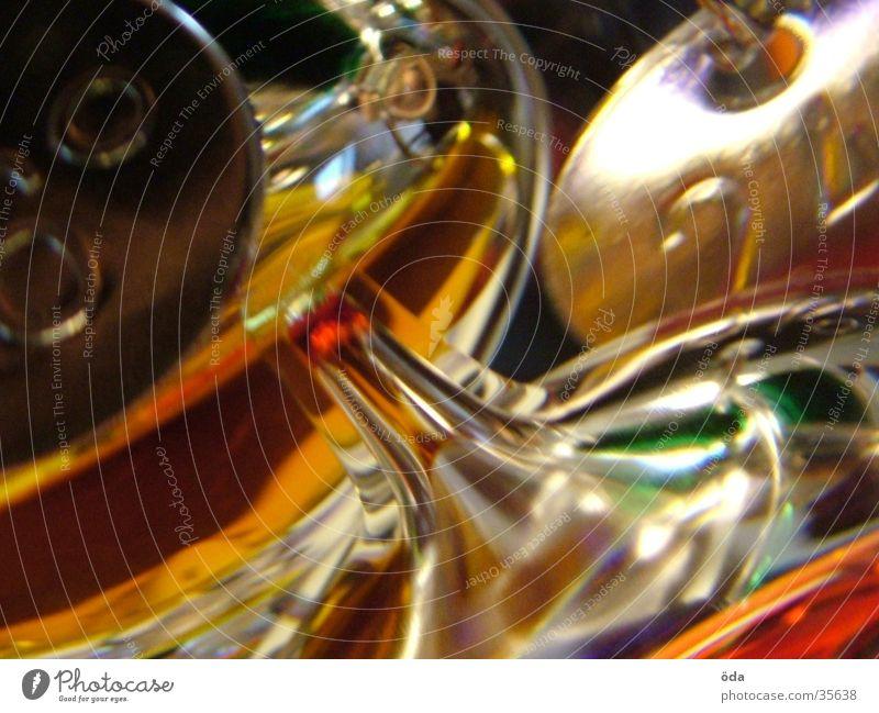 Galileo-Thermometer mehrfarbig rot Physik obskur Grad Celsius orange Wärme