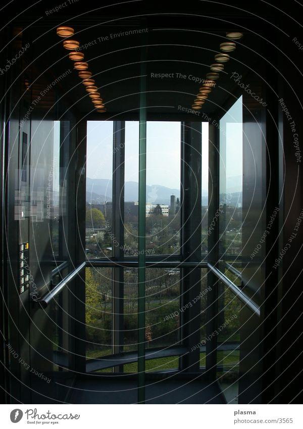 Freiburg Aussicht Dinge Fahrstuhl