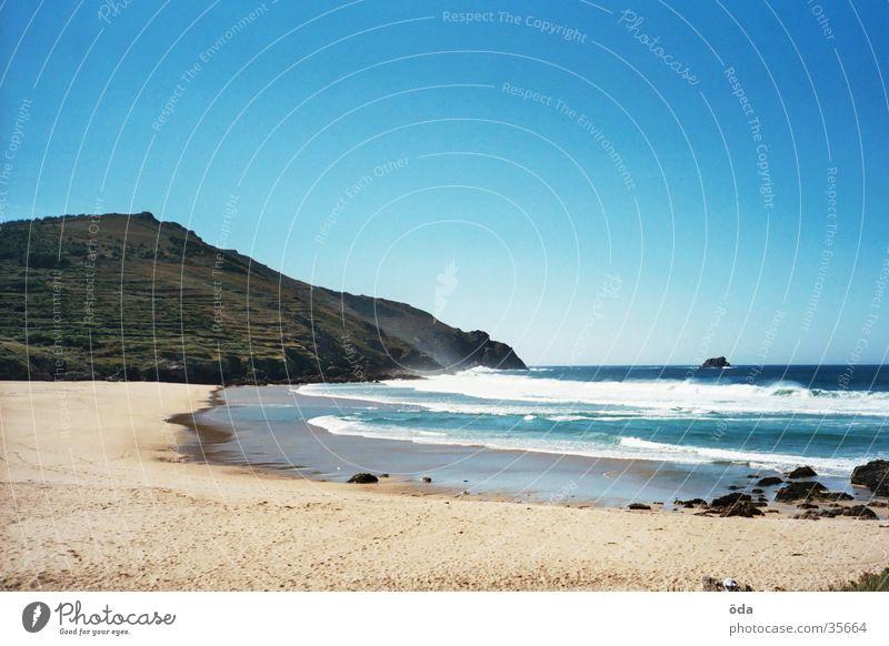 das Ende der Welt Sonne Meer Strand Einsamkeit Wellen Unendlichkeit Bucht
