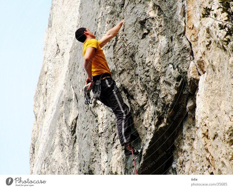 Tom-Climb Wand Kraft Seil Felsen Klettern fangen Griff retten Extremsport