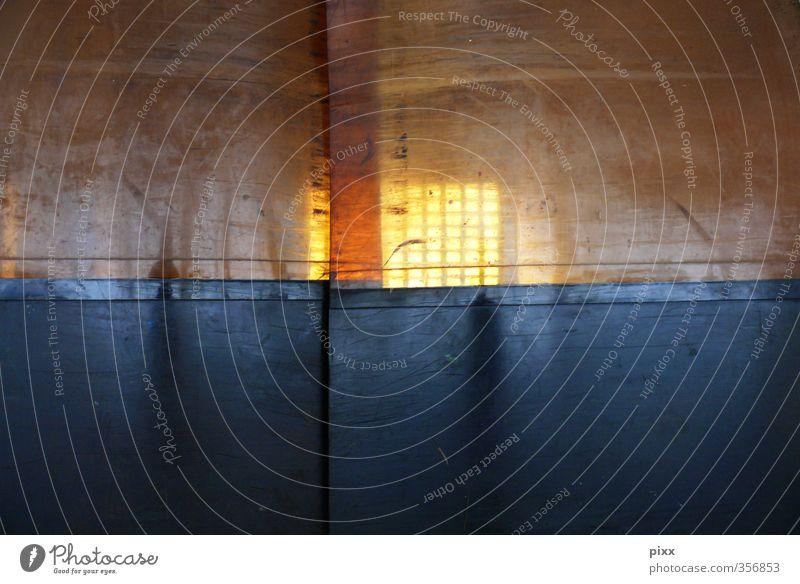 mittwochs_rätsel schwarz gelb Bewegung Arbeit & Erwerbstätigkeit orange Tür geschlossen Industrie berühren Neugier Kunststoff Platzangst Tor Kontrolle Vorhang Arbeitsplatz