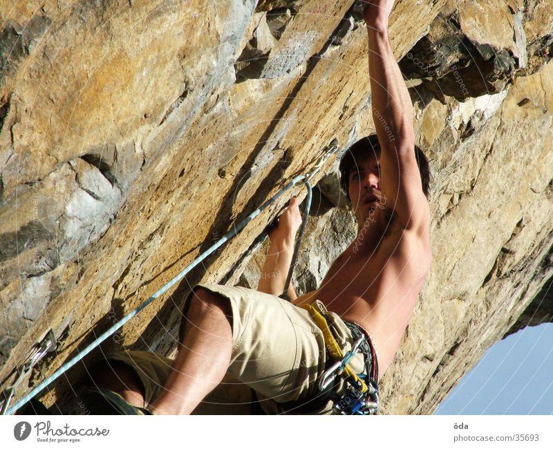 climbtime #1 Ferien & Urlaub & Reisen Wand Berge u. Gebirge Seil Klettern Richtung Gürtel Schlaufe Express Extremsport Kletteranlage Vorstieg