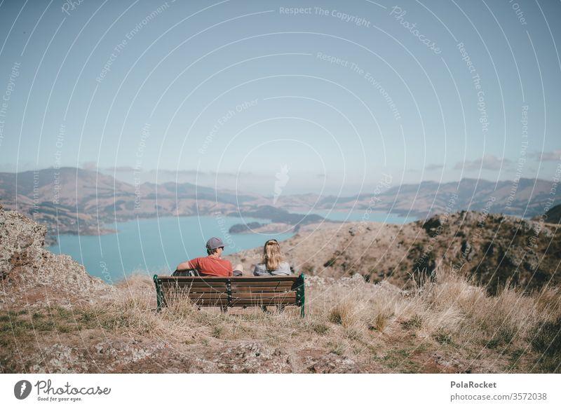#As# Bank mit Blick Paar Paare Beziehung beziehungskrise beziehungsprobleme beziehungsstress Beziehungen beziehungsende Aussicht Neuseeland