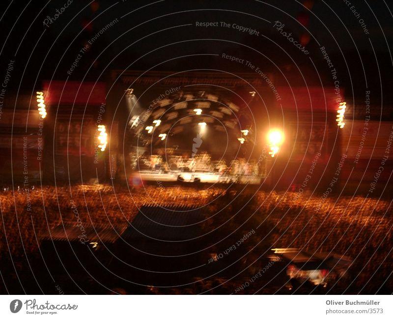 DAS FEST in KA Konzert Karlsruhe Nacht Bühne Mensch Open-Air-Konzert Musik Feste & Feiern