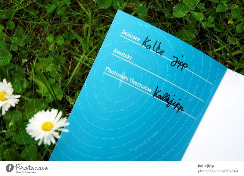 second life lernen Schriftzeichen Linie schreiben schreibschrift Identität photocase Formular Notizbuch besitzer Besitz Ich Erzählung Wiese Gänseblümchen