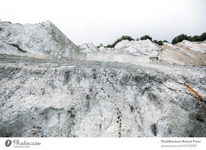 Weisser Fels Dänemark - Mons Klint Stranddüne Himmel Felsen weiß Ferien & Urlaub & Reisen Landschaft Tourismus Feslen gestein struktur Muster
