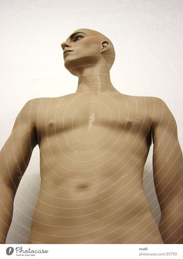 naked #2 nackt Mann Froschperspektive Haut Körper Muskulatur Erotik Bauch
