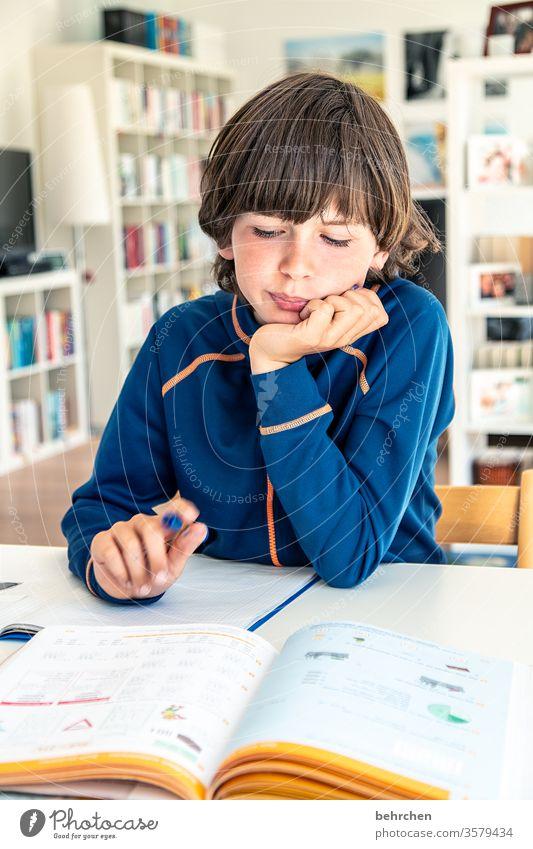 homeschooling | lalala Spaß haben Quatschkopf Füller Homeschooling Homeoffice Bildung rechnen Haare & Frisuren zuhause zu Hause arbeiten lesen schreiben