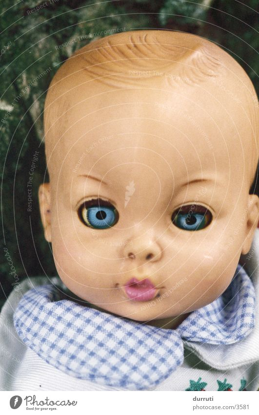 Puppe Kind Angst verrückt Spielzeug Dinge Seele