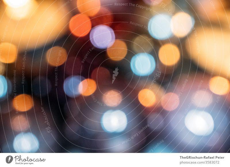 Verschwommene Lichter - Bokeh unscharf Stimmung Muster lichter abstrakt Dekoration & Verzierung Hintergrund Farbe verschwommen Weihnachten