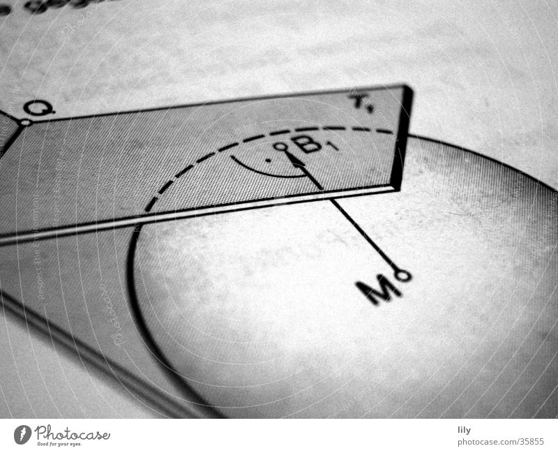 loving math #2 Schule Niveau Wissenschaften Mitte Kugel Mathematik Bildung Schwarzweißfoto Schulbücher