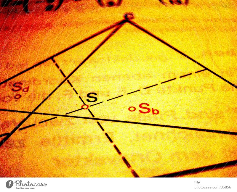 loving math #3 Schule Linie Niveau Wissenschaften rechnen Rechteck Mathematik Bildung Schulbücher
