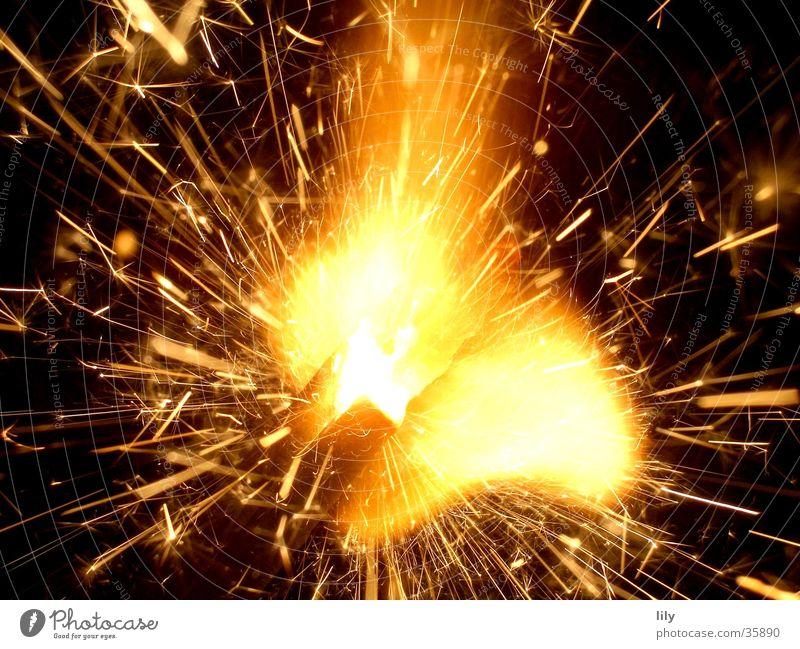 Zisch Brand Silvester u. Neujahr Wunderkerze
