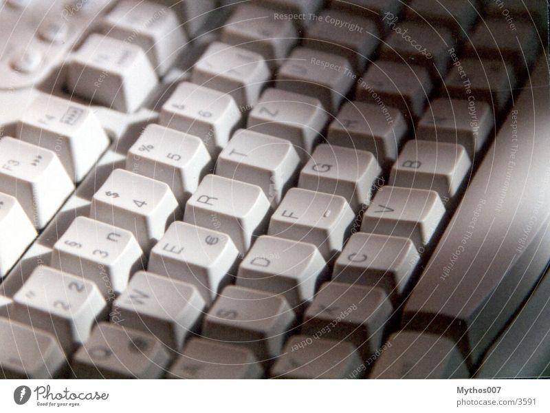 ::: Tastatur grau Dinge Tippen