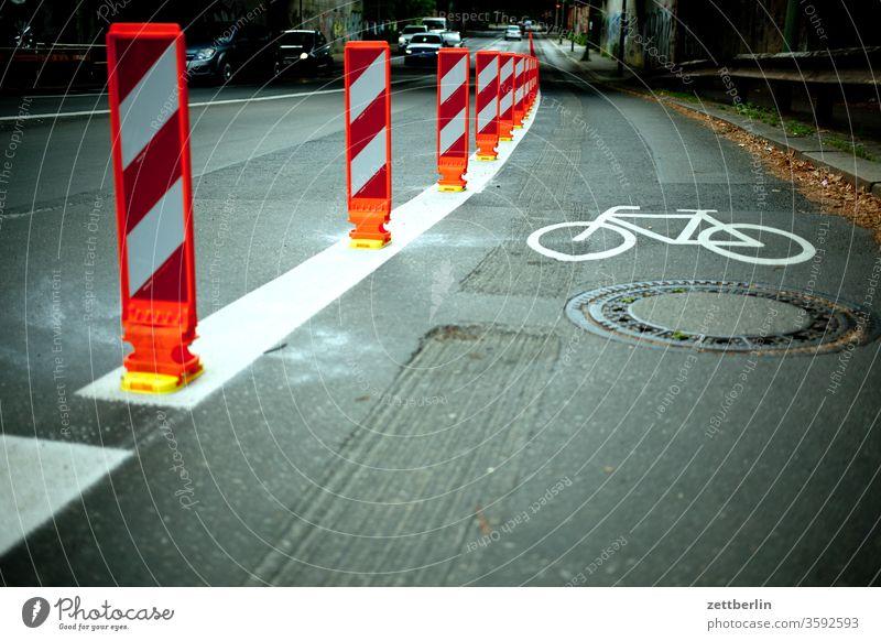 Pop-Up-Fahrradweg fahrradweg mehrspurig pop up weg pop-up-fahrradweg pop-up-radweg pop-up-weg regel sicherheit straße verkehr verkehrslenkung verkehrsregel