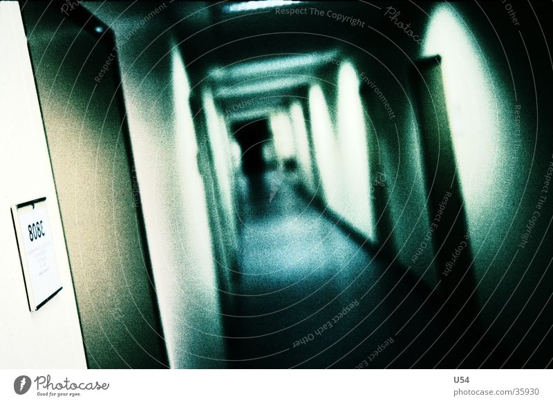 Labyrinth Flur Arbeit & Erwerbstätigkeit Gebäude Haus Unendlichkeit Fototechnik Büro Tür Gang Neigung