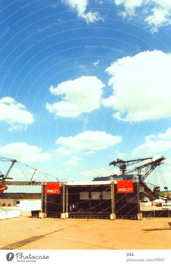 Melt.. Himmel Sonne Wolken Wärme Freizeit & Hobby Physik Bühne Musikfestival Bergbau