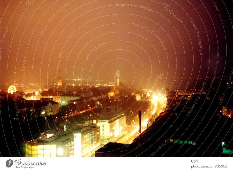Rostock Nights Nacht Langzeitbelichtung Weihnachtsmarkt Europa Straße