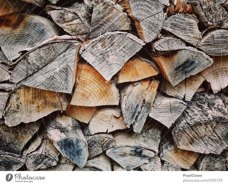 Brennholz Brennholz, Holz, Natur, Forstwirtschaft Farbfoto Holzstapel Baum Brennstoff