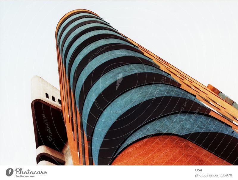sozialer Wohnungsbau #1 Himmel Haus Berlin Gebäude Architektur Häusliches Leben Balkon