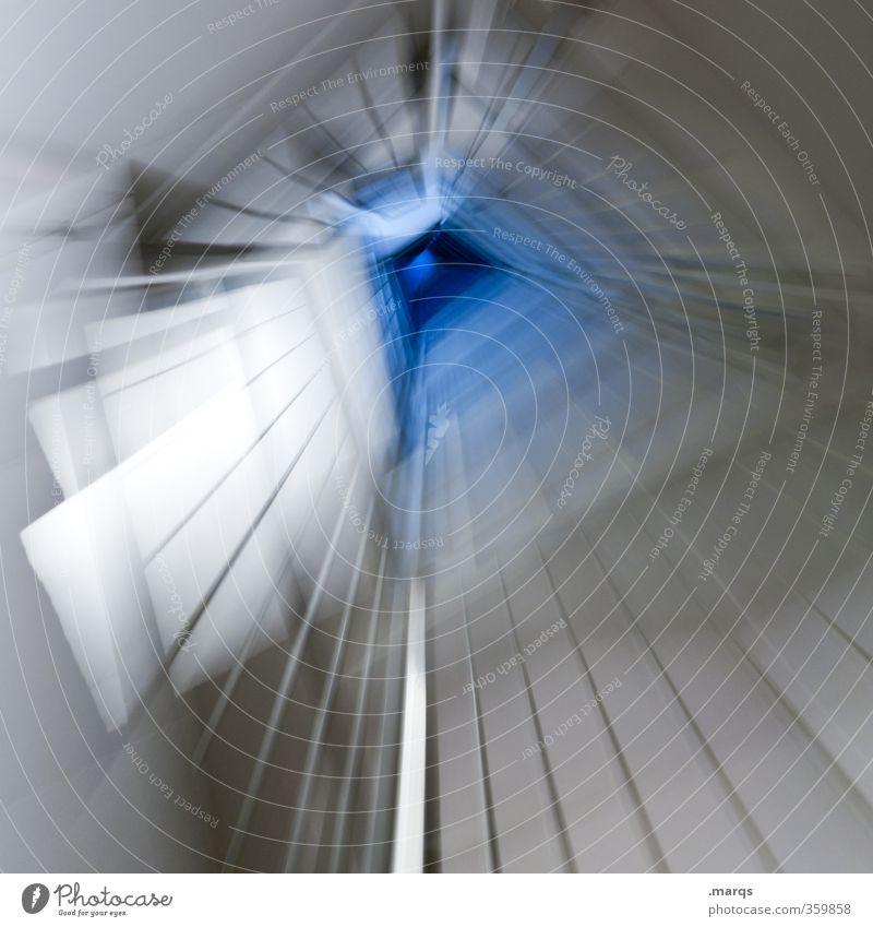 Lift Lifestyle elegant Stil Design Zeichen Geschwindigkeit Flur Treppenhaus Futurismus modern Ziel hell Linie Fluchtpunkt Bewegung Beschleunigung Fahrstuhl
