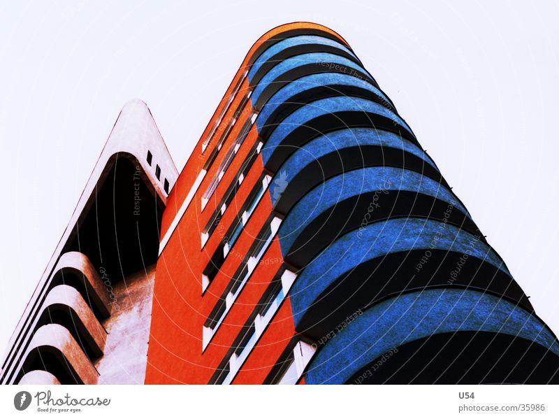 sozialer Wohnungsbau #2 Himmel Haus Berlin Architektur Häusliches Leben Kreuzberg